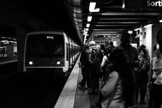 Train Subway train Passenger #354436