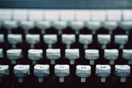 Typewriter keyboard Keyboard Device #354805