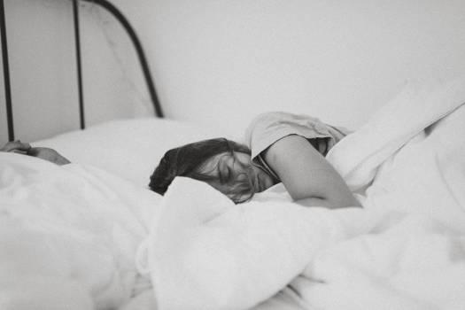Bed Bedroom Lying Free Photo