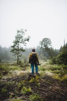 Farmer Ascent Hiking Free Photo