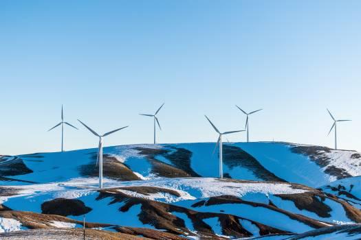 Turbine Sky Wind Free Photo