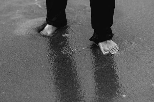 Leg Sidewalk Shoe Free Photo