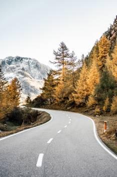 Bend Ascent Landscape Free Photo
