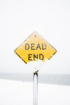 Sign Road Warning Free Photo