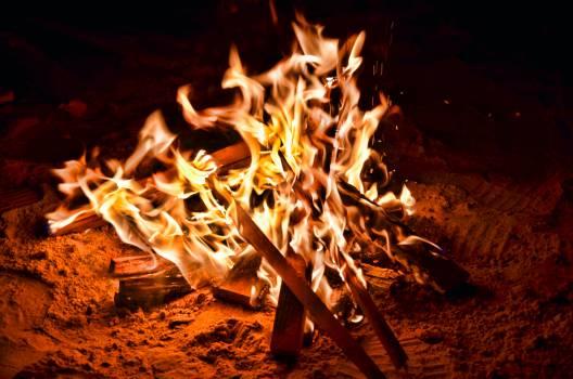 Fireplace Fire Flame #359641