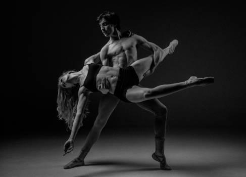 Man and Woman Dancing Illustration Free Photo