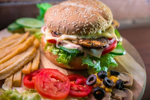 Cheeseburger Hamburger Sandwich #360142