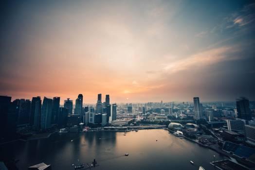 City Skyline Cityscape #360997