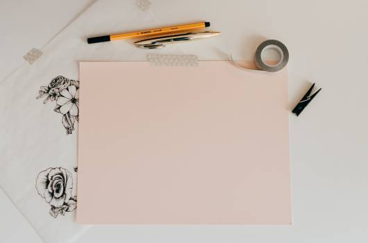 Notebook Paper Blank Free Photo