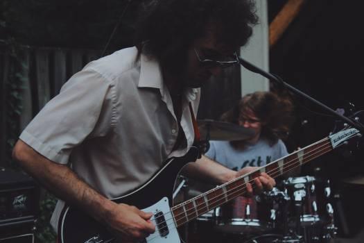 Guitar Musician Music Free Photo