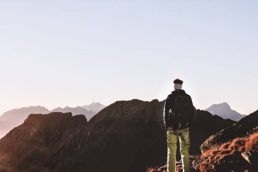 Mountain Hiking Landscape Free Photo