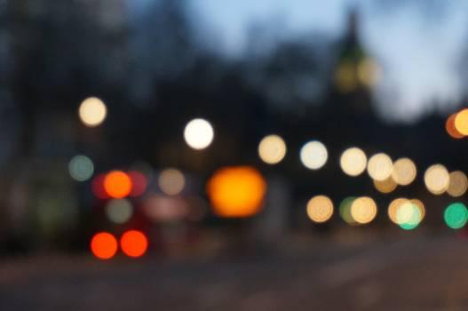 City lights night street #36303
