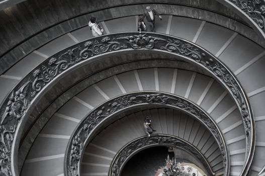Roundness round gallery stairs #36331