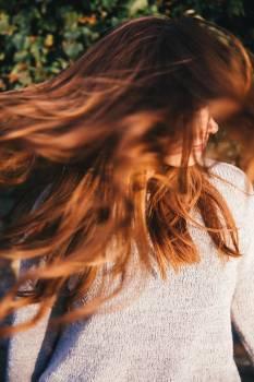 Brown Woman Long Hair #36358