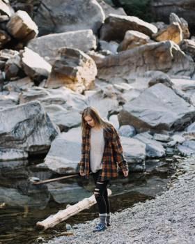 Tourist Rock Traveler Free Photo