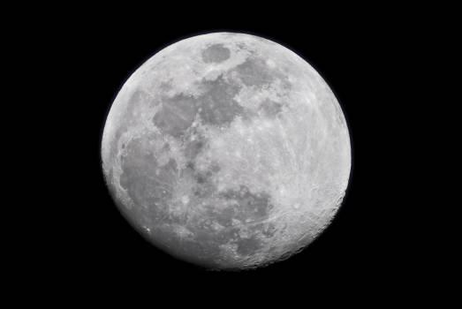 Moon full moon night closeup #36509