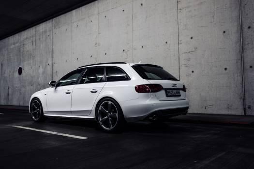 Audi Hatchback on Tunnel #36512