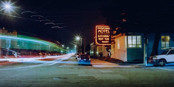 Intersection City Night #365476