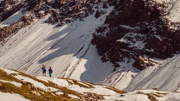 Mountain Snow Slope Free Photo