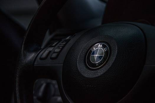 Bmw logo steering wheel car #36848