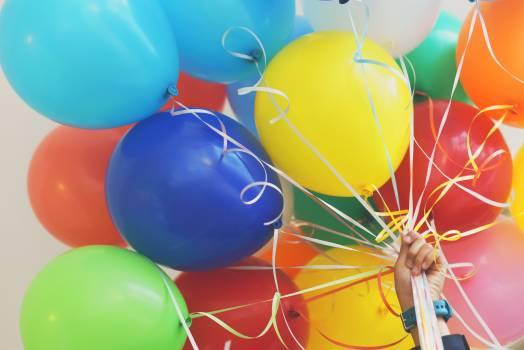 Balloon Aircraft Birthday Free Photo