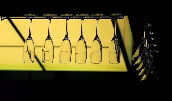 Glass Bottle Alcohol #369246