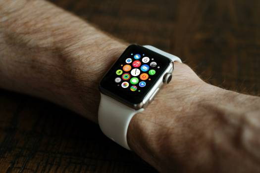 Smartwatch smart watch watch apple Free Photo