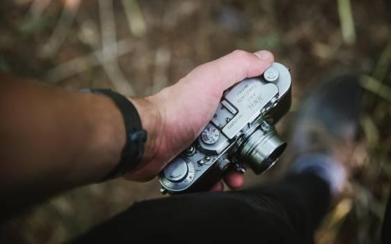 Hand Device Revolver Free Photo
