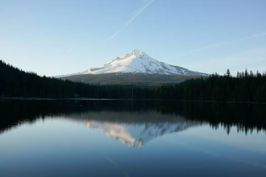 Mountain Lake Volcano Free Photo