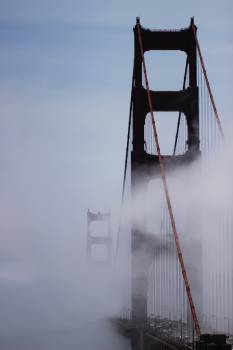 Suspension bridge Bridge Structure #370519