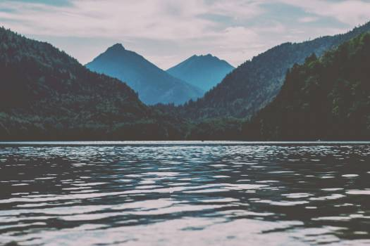 Mountain Range Landscape #371044
