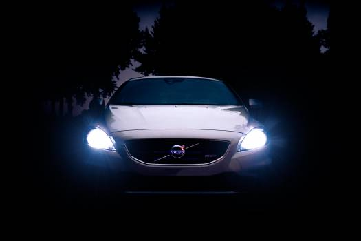 Headlight Car Vehicle Free Photo