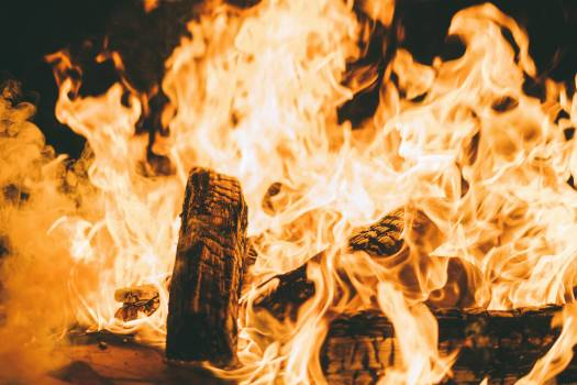 Fireplace Fire Heat #372281