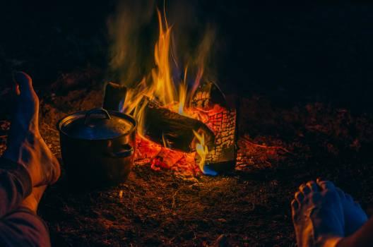 Fireplace Fire Flame #372385