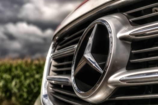 Mercedes Benz Silver Emblem #37263