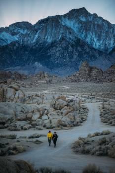 Mountain Snow Landscape #373596