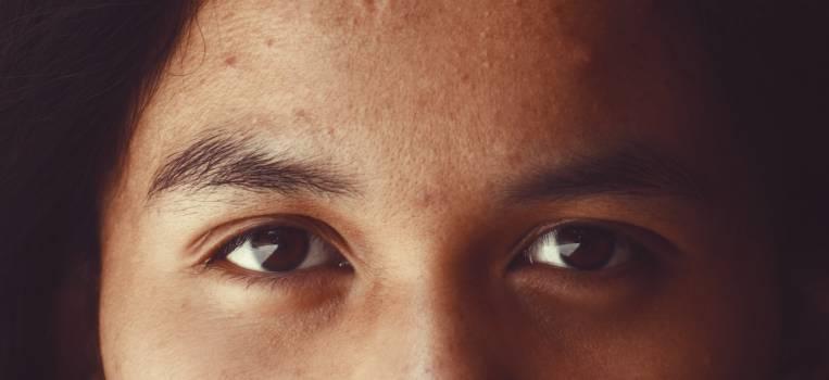 Eyebrow Face Close Free Photo