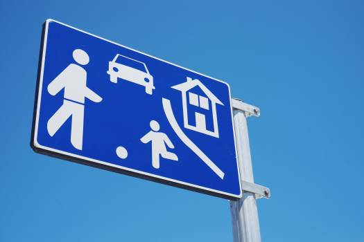 Sign Sky Road #374633
