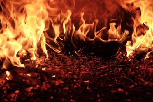 Fireplace Fire Flame #375604