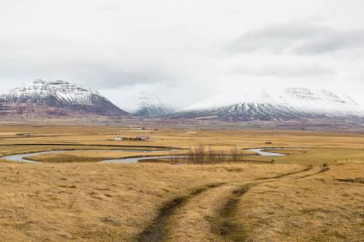 Highland Steppe Plain Free Photo