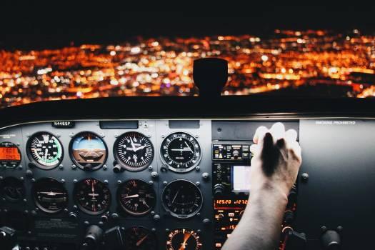 Flight simulator Cockpit Simulator #376964