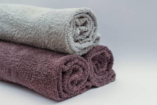 Towels bath towels bathroom Free Photo