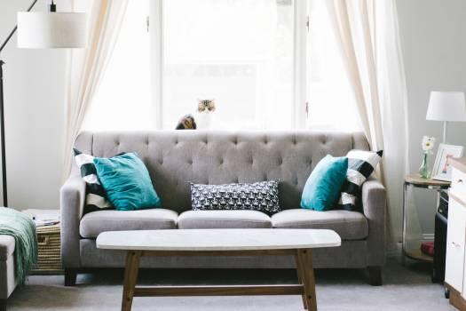 Studio couch Convertible Sofa Free Photo
