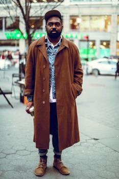 Coat Fur coat Trench coat Free Photo