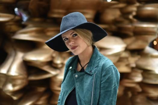 Girl woman hat model #37822