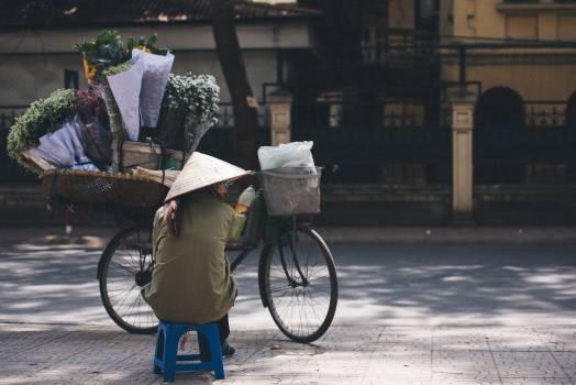 Bicycle Bike Parking meter Free Photo