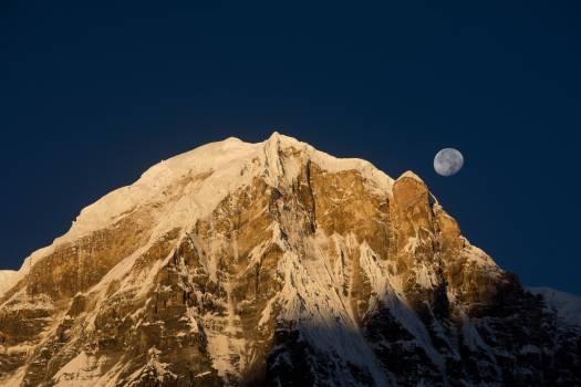 Mountain Line Range Free Photo