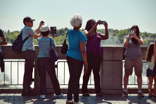 People Taking Pictures during Daytime #38027