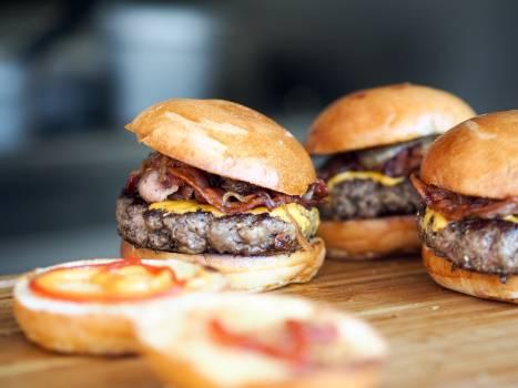 Cheeseburger Hamburger Sandwich #382012