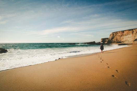 Beach Sand Ocean #382271